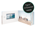 Echtfotopapier Glanz oder Matt – Video-Fotobuch