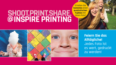 Shoot. Print. Share. @ Inspire Printing Exhibition an der Photokina 2018