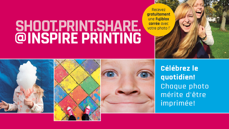 Shoot. Print. Share. @ Inspire Printing Exhibition à la Photokina 2018